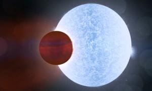 Hành tinh siêu nóng 9 tiếng đổi mùa một lần
