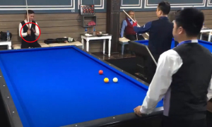 Siêu phẩm billiards của cơ thủ Việt