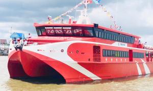 Tuyến du lịch biển bằng tàu cao tốc đầu tiên ở Cà Mau