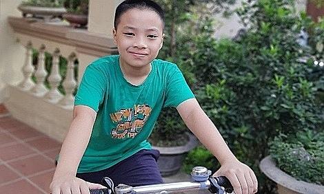 Nam sinh 12 tuổi nhận học bổng của FUNiX