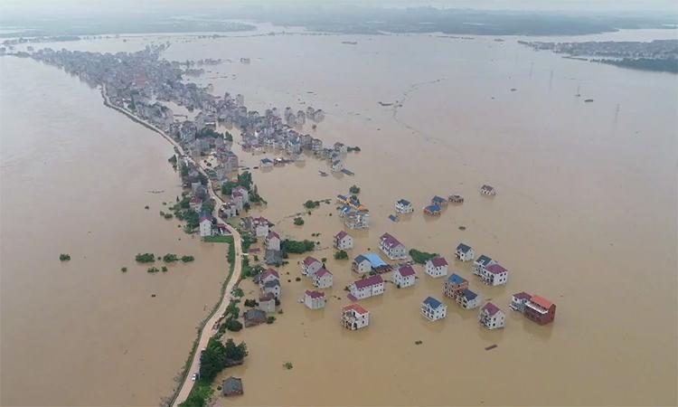 Tỉnh Trung Quốc cảnh báo lũ lụt cao nhất