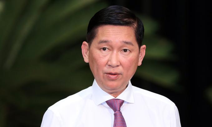 Phó chủ tịch UBND TP HCM Trần Vĩnh Tuyến bị khởi tố