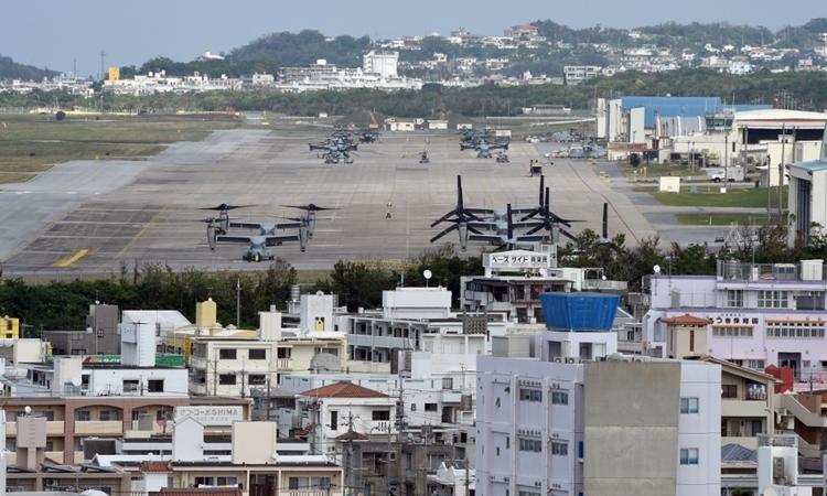 Mỹ, Nhật đối phó cụm dịch ở căn cứ quân sự