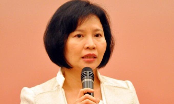 Cựu thứ trưởng Hồ Thị Kim Thoa bị truy nã