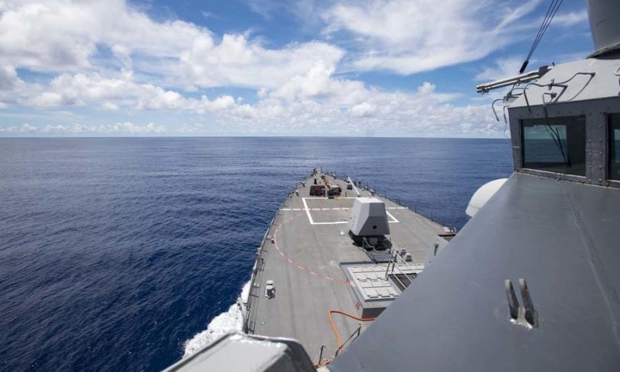 Chiến hạm Mỹ hoạt động gần Trường Sa