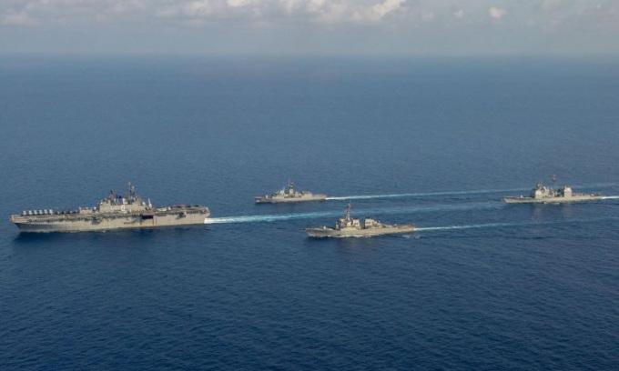 Thông điệp của Mỹ khi bác yêu sách Trung Quốc trên Biển Đông