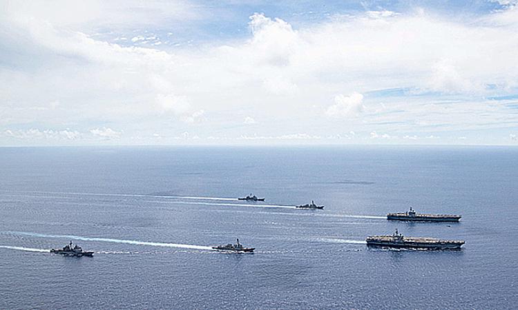 Trung Quốc lên tiếng sau tuyên bố Biển Đông của Mỹ