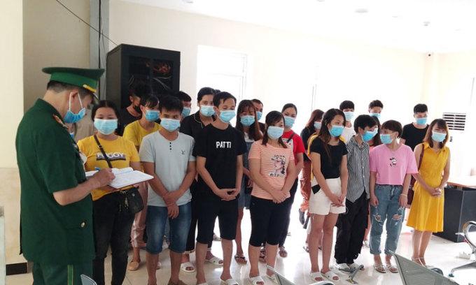 Lợi dụng mưa gió nhập cảnh trái phép vào Việt Nam