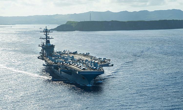 Tàu sân bay Mỹ thay hai hạm trưởng trong 4 tháng