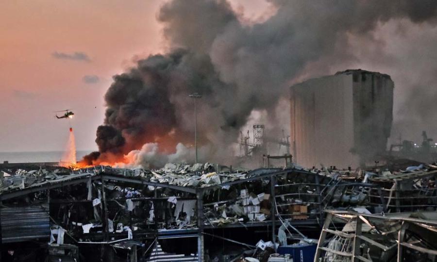 Nổ lớn ở Lebanon, 73 người chết