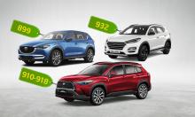 Corolla Cross, Tucson và CX-5 - lựa chọn nào cho khách Việt