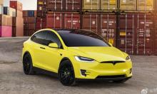 Tesla mở dịch vụ chính hãng dán màu ôtô