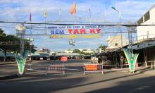 Quảng Nam phong tỏa chợ đêm Tam Kỳ