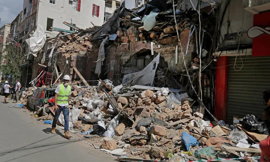 Hơn một nửa cơ sở y tế ở Beirut không hoạt động