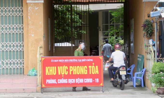 Đà Nẵng phong tỏa hai khu chung cư
