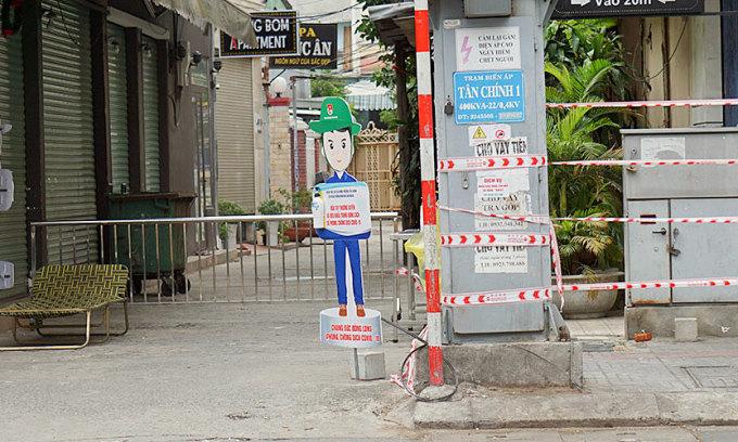 Đà Nẵng phong tỏa thêm 5 khu dân cư