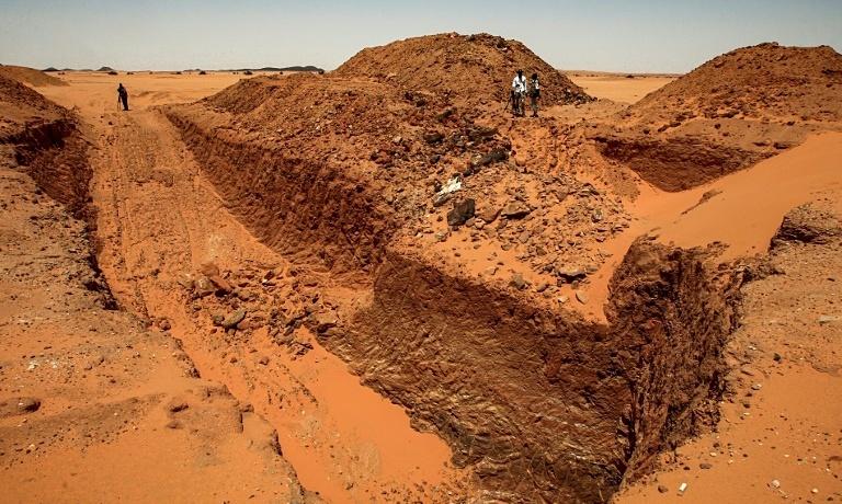 Cơn sốt vàng hủy hoại lịch sử vô giá của Sudan