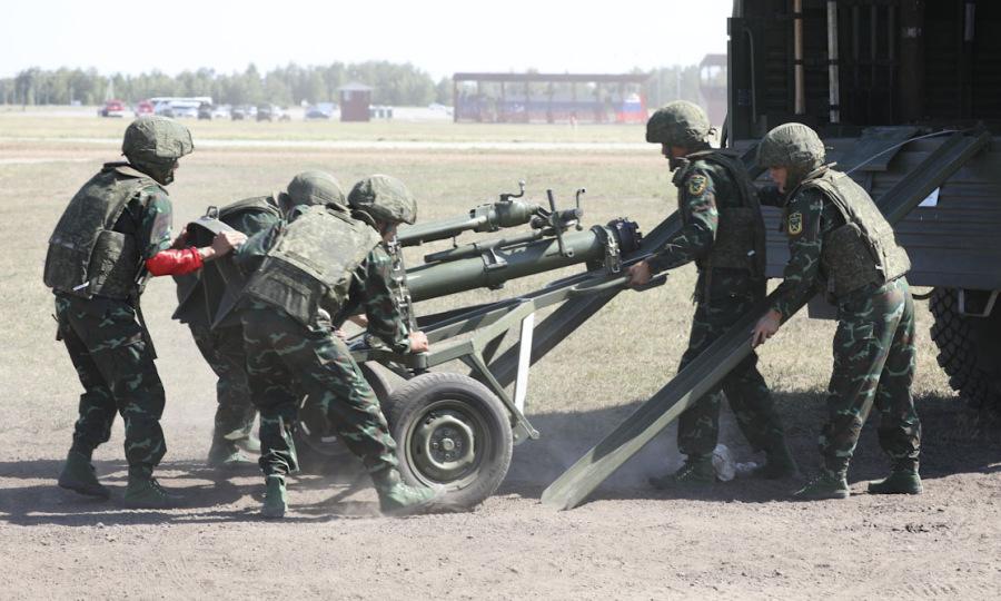 Pháo binh Việt Nam xếp hạng ba trận ra quân tại Army Games