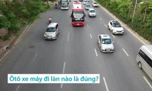 Những quy định tài xế hay nhầm lẫn khi đi trong phố