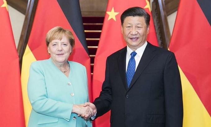 Trung Quốc từ đối tác lâu năm đến đối thủ của Đức