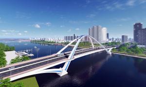 Gần 800 tỷ đồng xây cầu qua sông Cần Thơ