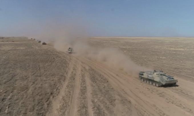 Hơn 80.000 lính Nga tập trận