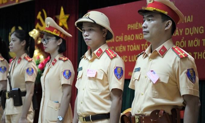 Nghiên cứu cải tiến trang phục cảnh sát giao thông