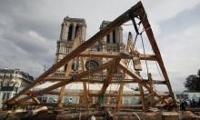Pháp dùng kỹ thuật 800 năm để dựng lại nhà thờ Đức Bà