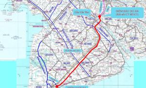 Ba phương án xây cao tốc Cần Thơ - Cà Mau