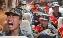 Tranh cãi về tân binh Trung Quốc khóc khi nhập ngũ