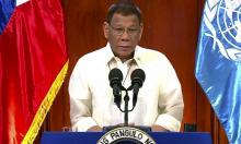Duterte nêu vụ kiện Biển Đông ra Liên Hợp Quốc