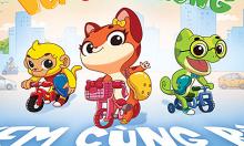 Trẻ mầm non học giao thông qua phim hoạt hình