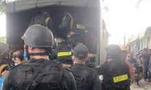 200 người đánh bạc ở Sài Gòn bị vây bắt