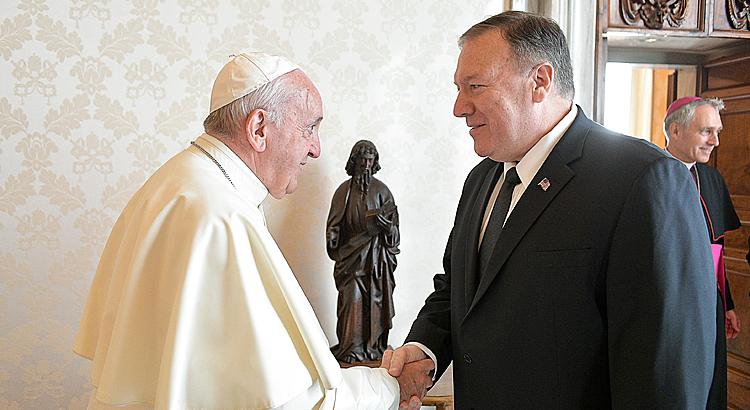 Giáo hoàng hủy gặp Ngoại trưởng Mỹ