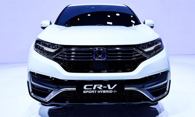 Honda CR-V cắm điện ra mắt