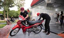 Khách Việt ấn tượng khả năng tiết kiệm xăng của xe máy Honda