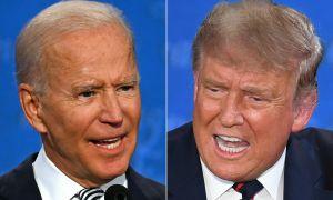 Ngôn ngữ cơ thể Trump - Biden trong cuộc 'so găng'