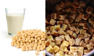 Tại sao không nên trộn sữa đậu nành và đường đen?