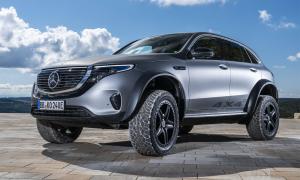 Mercedes EQC 4x4 - ôtô điện cho người mê off-road