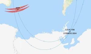 Vệ tinh Xô Viết có thể va vào mảnh vỡ tên lửa Trung Quốc
