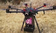 Drone thả cầu lửa dập đám cháy rừng
