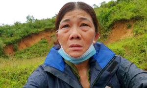 Vượt đường xa nhận thi thể bị vùi lấp ở Quảng Trị
