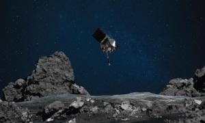 Tàu NASA lấy mẫu vật 4,5 tỷ năm tuổi trên tiểu hành tinh