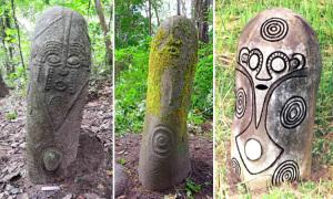 Thu giữ lô đá chạm khắc hơn 1.000 năm tuổi từ Cameroon