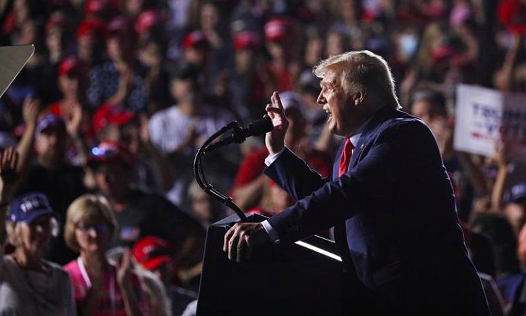 Trump sẽ bỏ phiếu sớm ở Florida