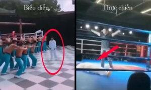 Võ sư 'truyền điện' Trung Quốc no đòn khi thách đấu MMA