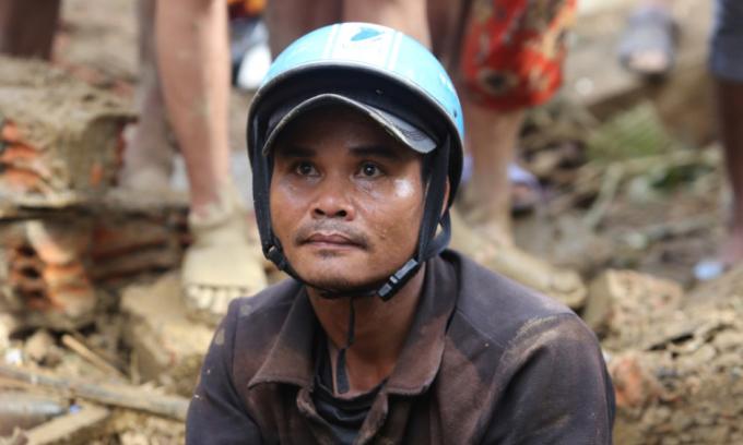 46 người sống sót trong hai vụ lở đất ở Nam Trà My