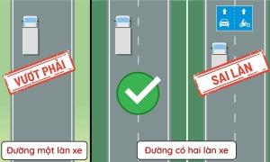 Các quy tắc vượt xe đúng luật