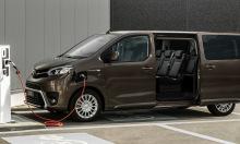 Toyota Proace Verso Electric - xe gia đình chạy điện