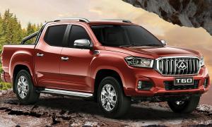 Maxus T60 giá 24.500 USD - bán tải Trung Quốc cạnh tranh Ford Ranger